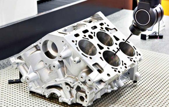 Obróbka CNC bloku silnika