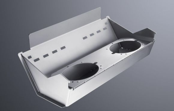 Detal wycięty laserem Fiber