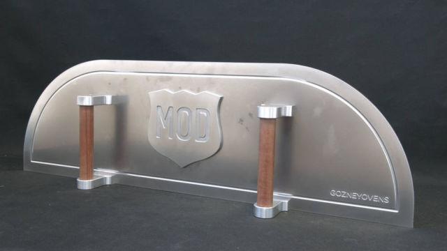 Drzwiczki do pieca na pizzę - frezowanie razotexu i aluminium