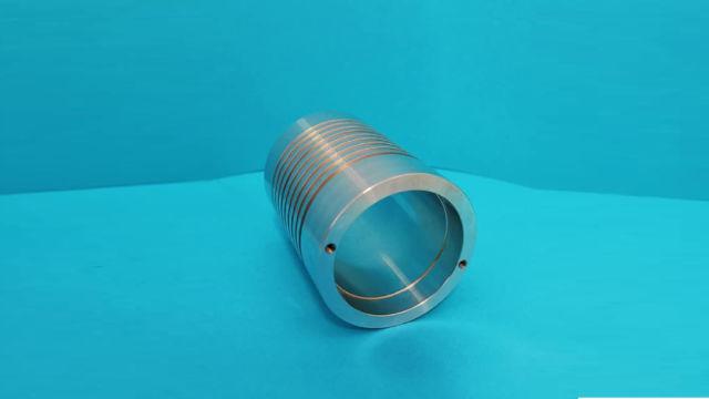 Część z aluminium PA4 dla przemysłu oświetleniowego